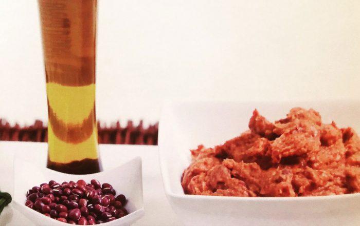 Red kidney bean dip - recipe information