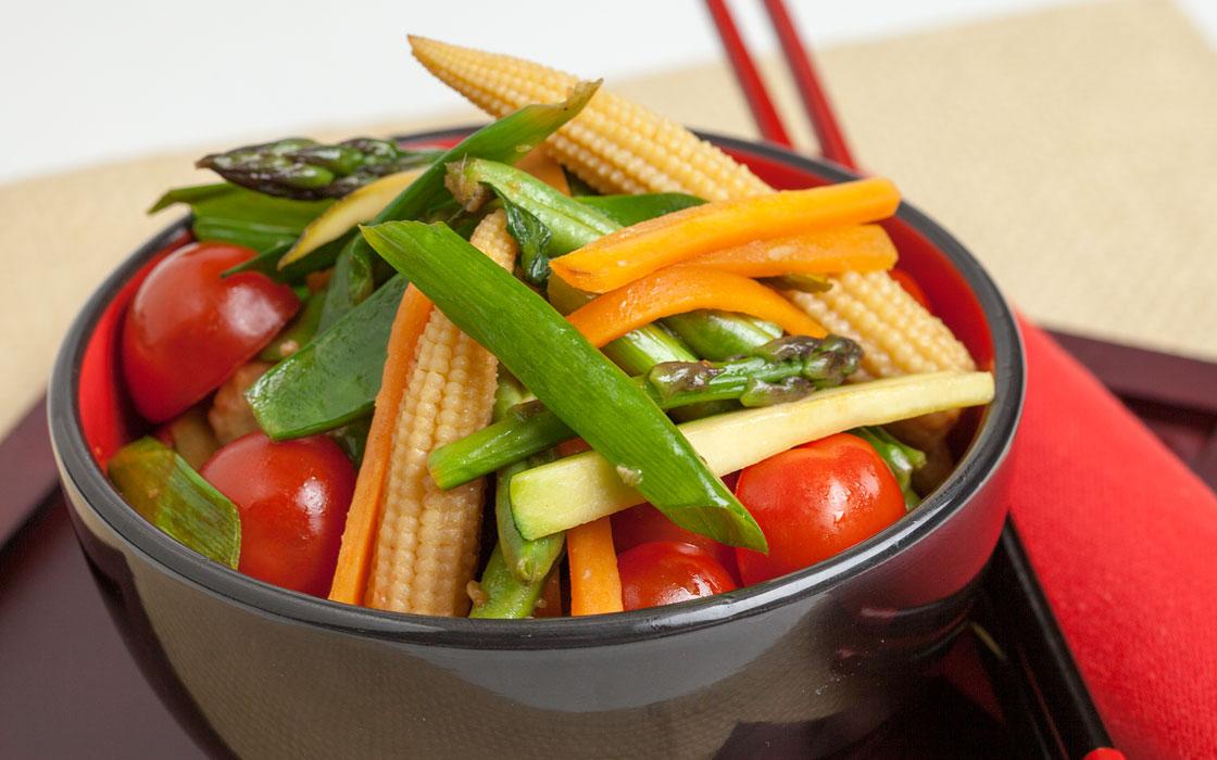 Vegetable and Ginger Stir-fry