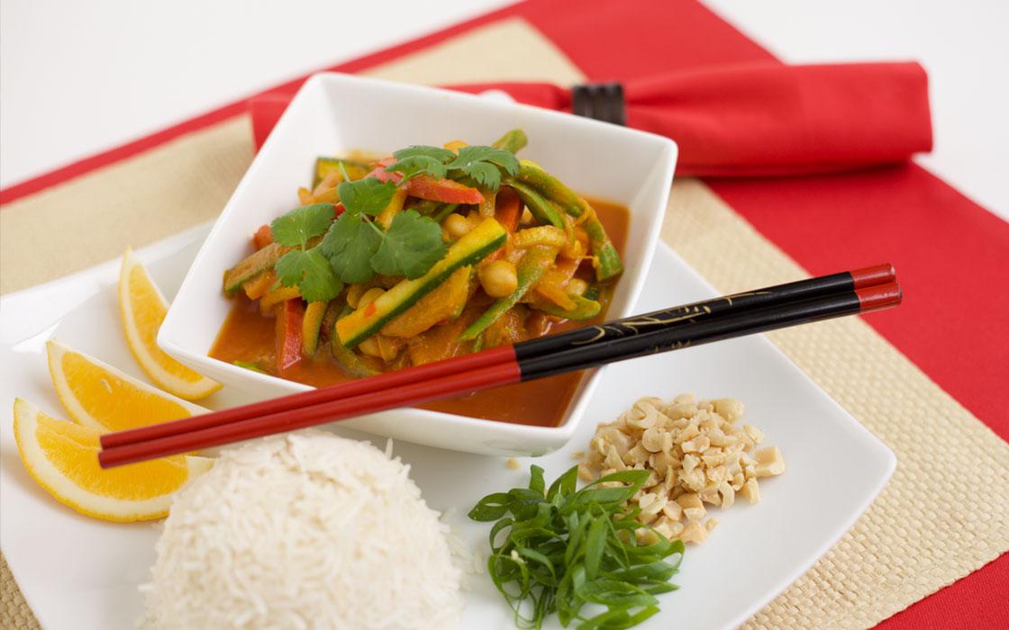 Thai style curry