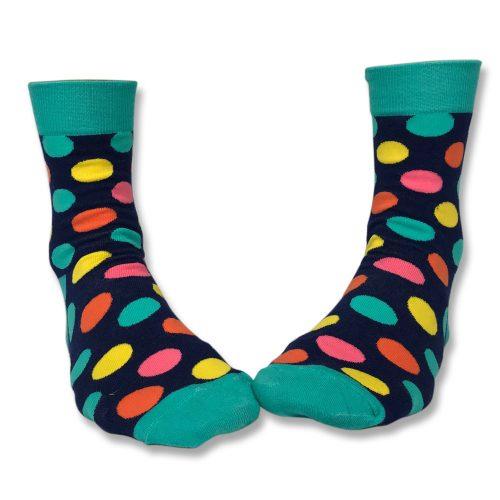 Spotty socks unisex