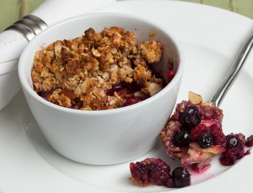 Berry Banana Crumble